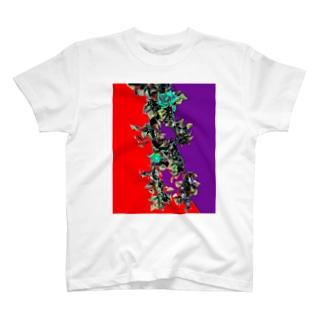 つるバラ T-shirts