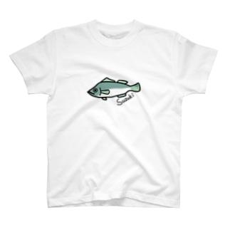 おさかなくんのシーバスくん T-shirts