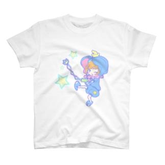 おけしまさん(あお) T-shirts