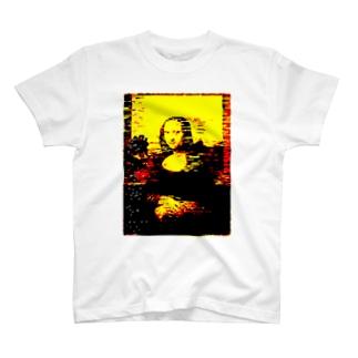 モナリザバグ T-shirts