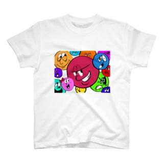 88(yaha)のWACHA WACHA FACE! T-shirts