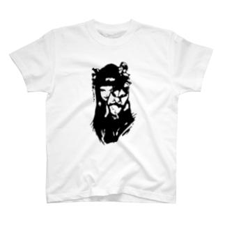 fox-face(light) T-shirts