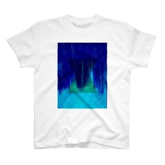 トライアングル2 青ver T-shirts