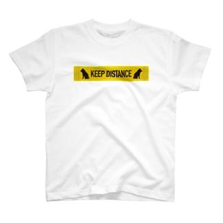 KEEP DISTANCE T-shirts
