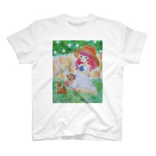 初夏の庭 T-shirts