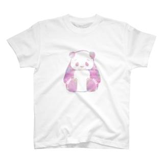 おすわりパンダT ユメカワ T-shirts