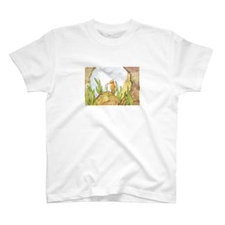 タツノオトシゴくんのメロンクリームソーダ T-shirts