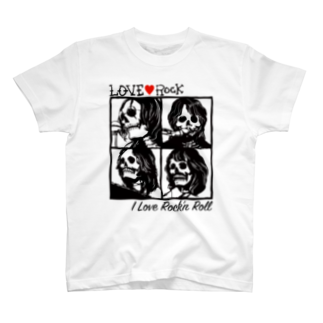 JOKERS FACTORYのLOVE ROCK T-shirts