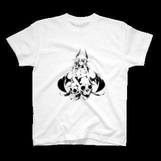 小悪魔ユノのsmiley Devil T-shirts
