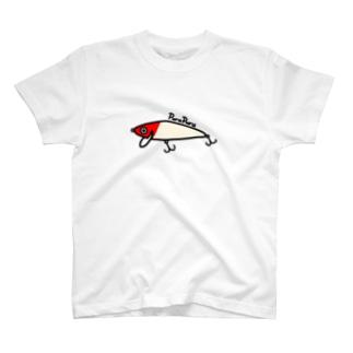 ミノーくん レッドヘッド T-shirts