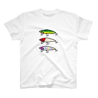 ぼくのルアーボックス バス T-shirts