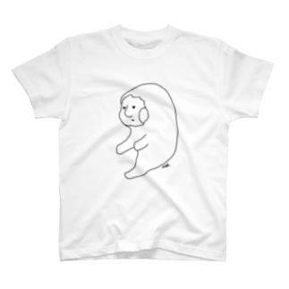 アマビコさん(線) T-shirts