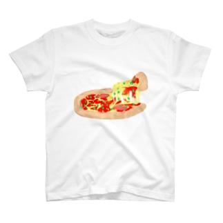 ピザ T-shirts