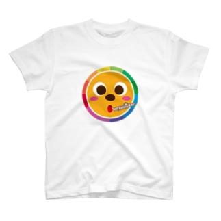 ハレ太くん Rainbow ver. T-shirts