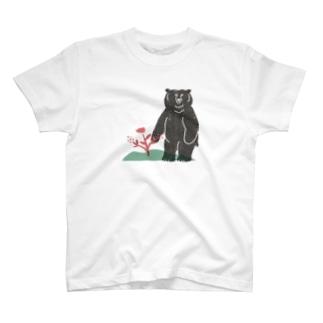 ヒグマ T-shirts