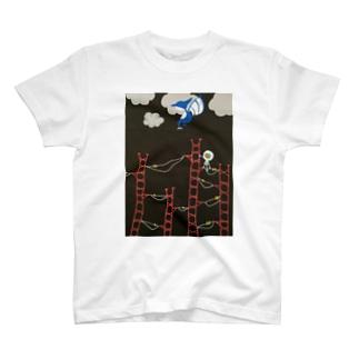 氷山のぼる人 T-shirts