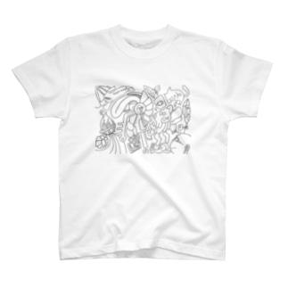 宇宙の散歩 T-shirts
