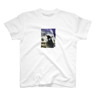 ペンギンのコップ T-shirts