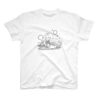にんぎょひめ T-shirts
