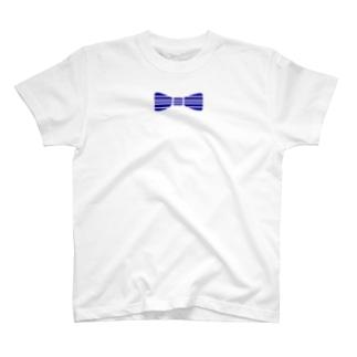 蝶ネクタイ2 T-shirts