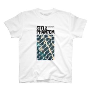 都市の亡霊 「Sunken Ship」 T-shirts