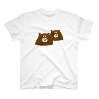 くまのきょうだい T-shirts