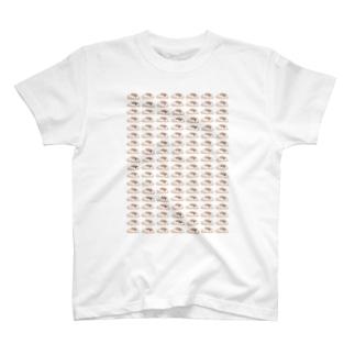 シナモン文鳥 T-shirts