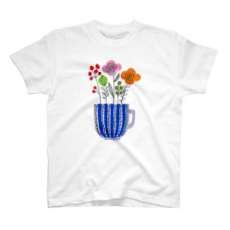 幸せなコーヒータイム T-Shirt