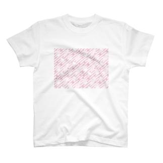 ピンクのお菓子 T-shirts