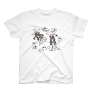 うーちゃんドローイング T-shirts