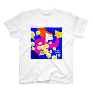 豆知識を蓄える T-shirts