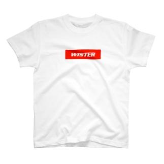WISTER W×R T-shirts