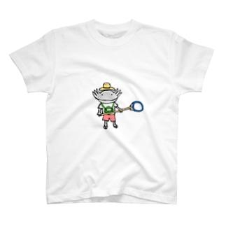ウーパーの夏休み T-shirts