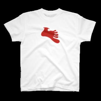 george1shinのgeorge-foot T-shirts