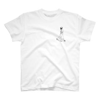 無色 T-shirts