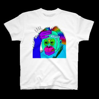 ReijiartのMonkeyman T-shirts