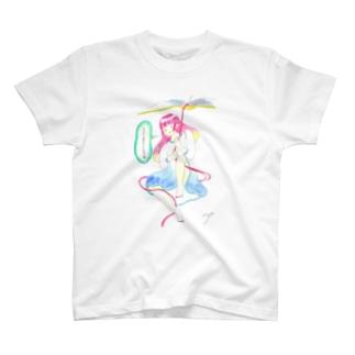 ココシバ×絶景書店 T-shirts