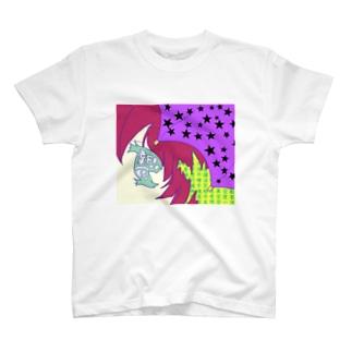 新宿は豪雨 T-shirts
