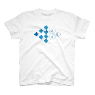 ネブカプロの千鳥 T-Shirt