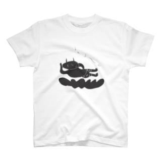 鼻歌する小鬼 T-shirts
