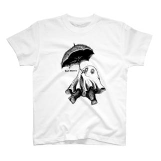 "Dark blanco ""Monster 19"" T-shirts"