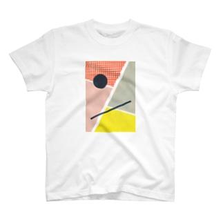 円と線分 T-Shirt