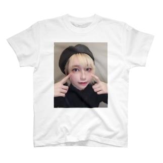 ヤニカスの顔Tシャツ T-shirts