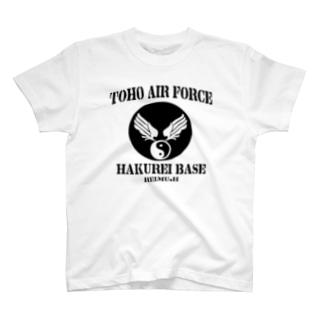 博麗ベース黒 T-shirts