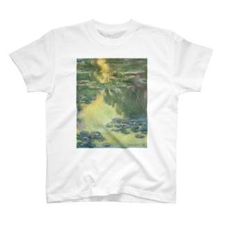 public domainの睡蓮 / クロード・モネ T-shirts