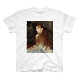 public domainのイレーヌ・カーン・ダンヴェール嬢 / ピエール=オーギュスト・ルノワール T-shirts