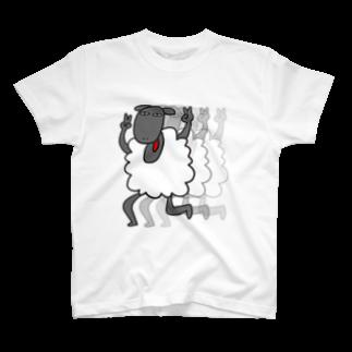 ヴァンにゃのひつじ T-shirts