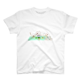 カップラーメンとカップ焼きそば T-shirts