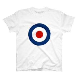 TARGET MARK ターゲットマーク who イギリス海軍 モッズ ロンドン who ク ラウンデル Roundel 円 T-shirts