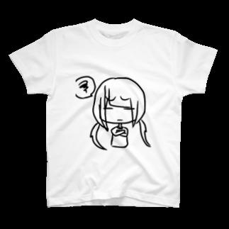 ねこみくわーるど!のもやもやする人 T-shirts